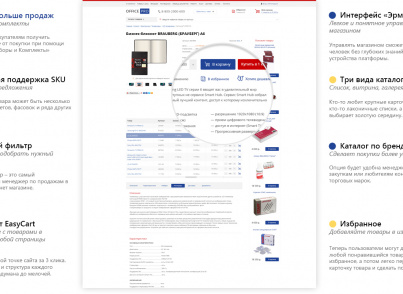 Товары для офиса, канцтовары. Бумага. Офисная мебель (OfficePRO) (рус. + англ.)