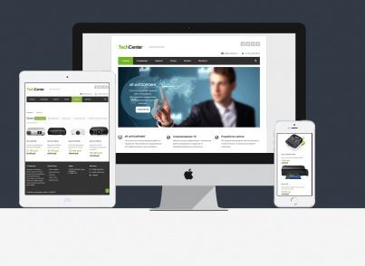 Корпоративный сайт Вашей компании с каталогом
