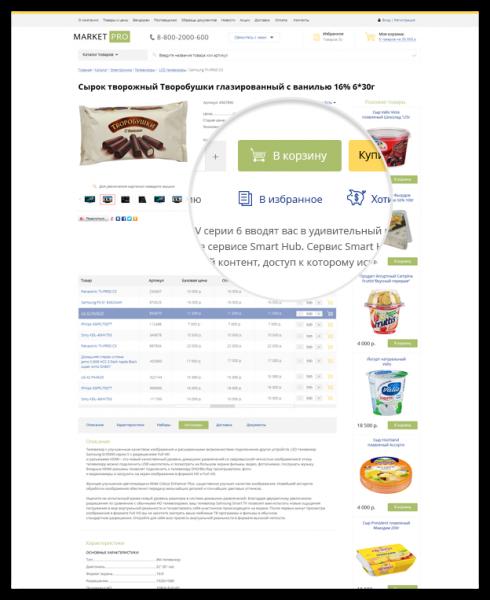 Продукты питания, товары повседневного спроса, бытовая химия