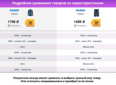 """Apparel LITE — магазин модной одежды и аксессуаров для редакции """"Старт"""""""