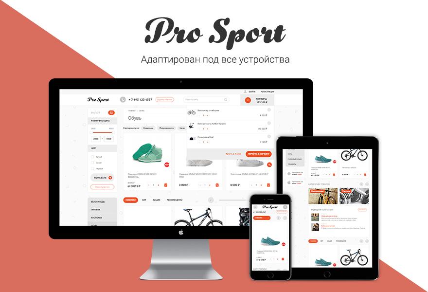 Интернет-магазин спортивных товаров сайт