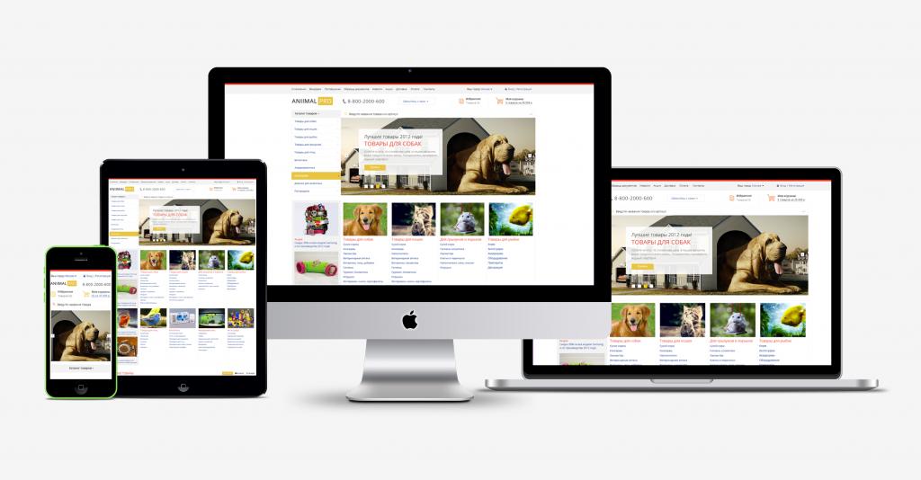 Интернет-магазин товаров для животных AnimalPRO