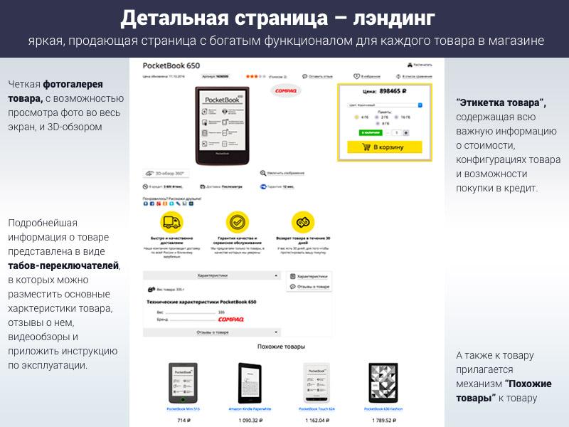 """Иинтернет-магазин электроники для редакции """"Старт"""""""
